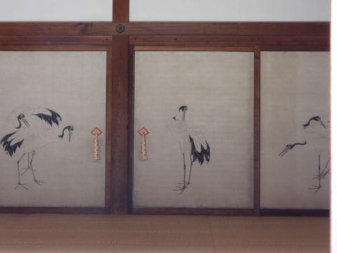 鶴の間(殿上人の間)